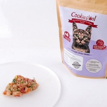 Dieta Barf Pollo para Gatos | Packs 1 Kg (10x100 gr)